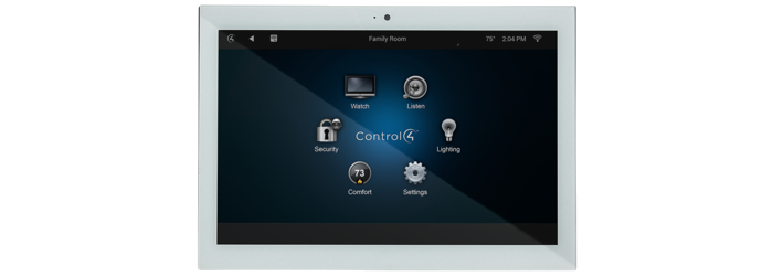 Control4 7 Quot In Wall Touch Screen Create Automation