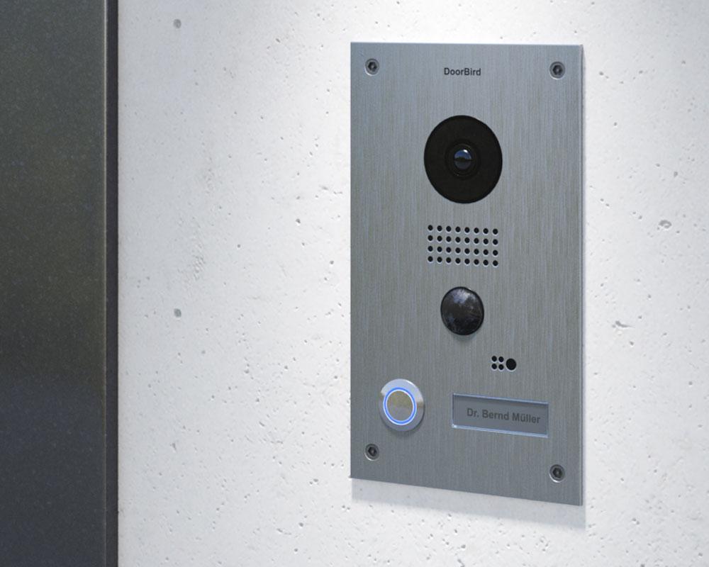 Doorbird D202 Wifi Intercom Flush Door Station