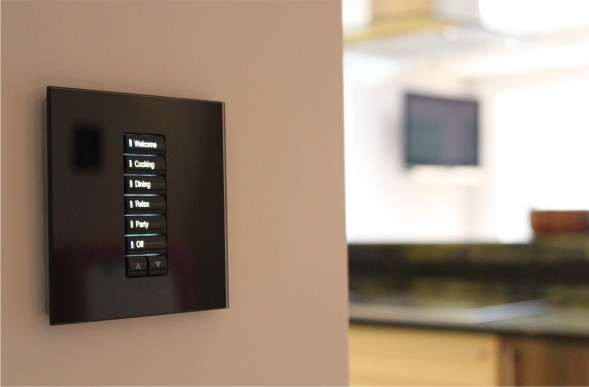 Kitchen Mood Lighting & Mood Lighting Control | Nottingham - Create Automation
