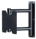 Future Automation FSH-BLK-626 Black Steel Swivel Wall Mount
