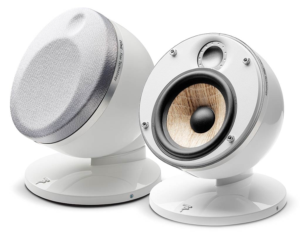 Focal Dome Flax 2 0 Satellite Dome Speakers