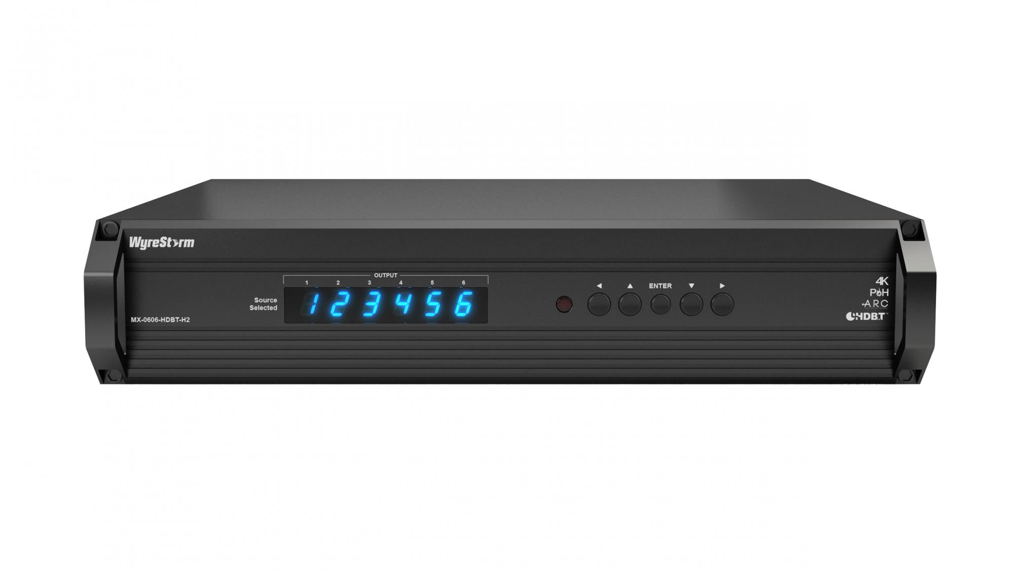 WyreStorm 6x6 HDBaseT Matrix With ARC And HDCP 22 Support