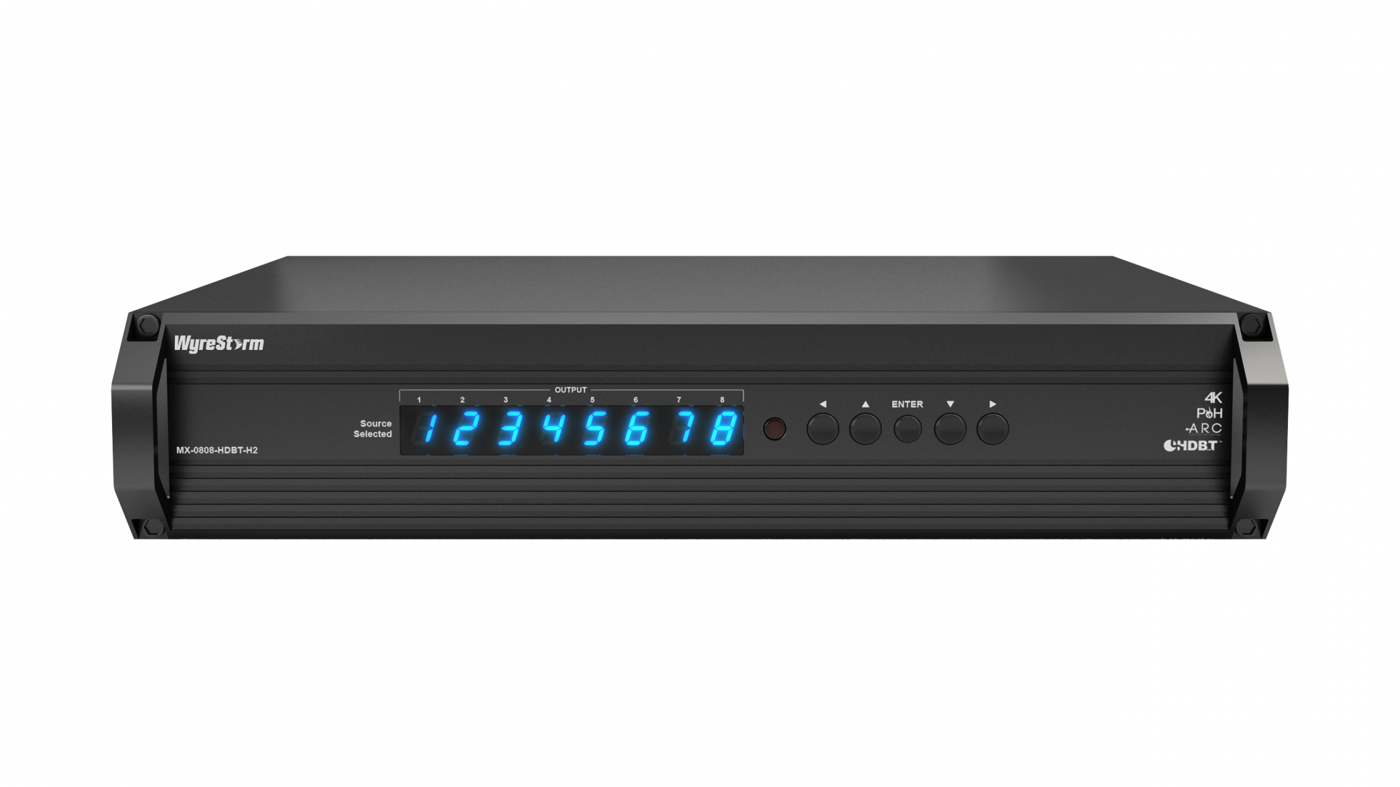 WyreStorm 8x8 HDBaseT Matrix With ARC And HDCP 22 Support