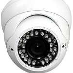 Outdoor 30M IR Dome Camera 540TVL - White