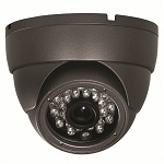Outdoor 15M IR Dome Camera 600TVL - Grey