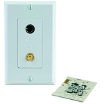 Sonance iPort B/VIDEO WALLPLATE