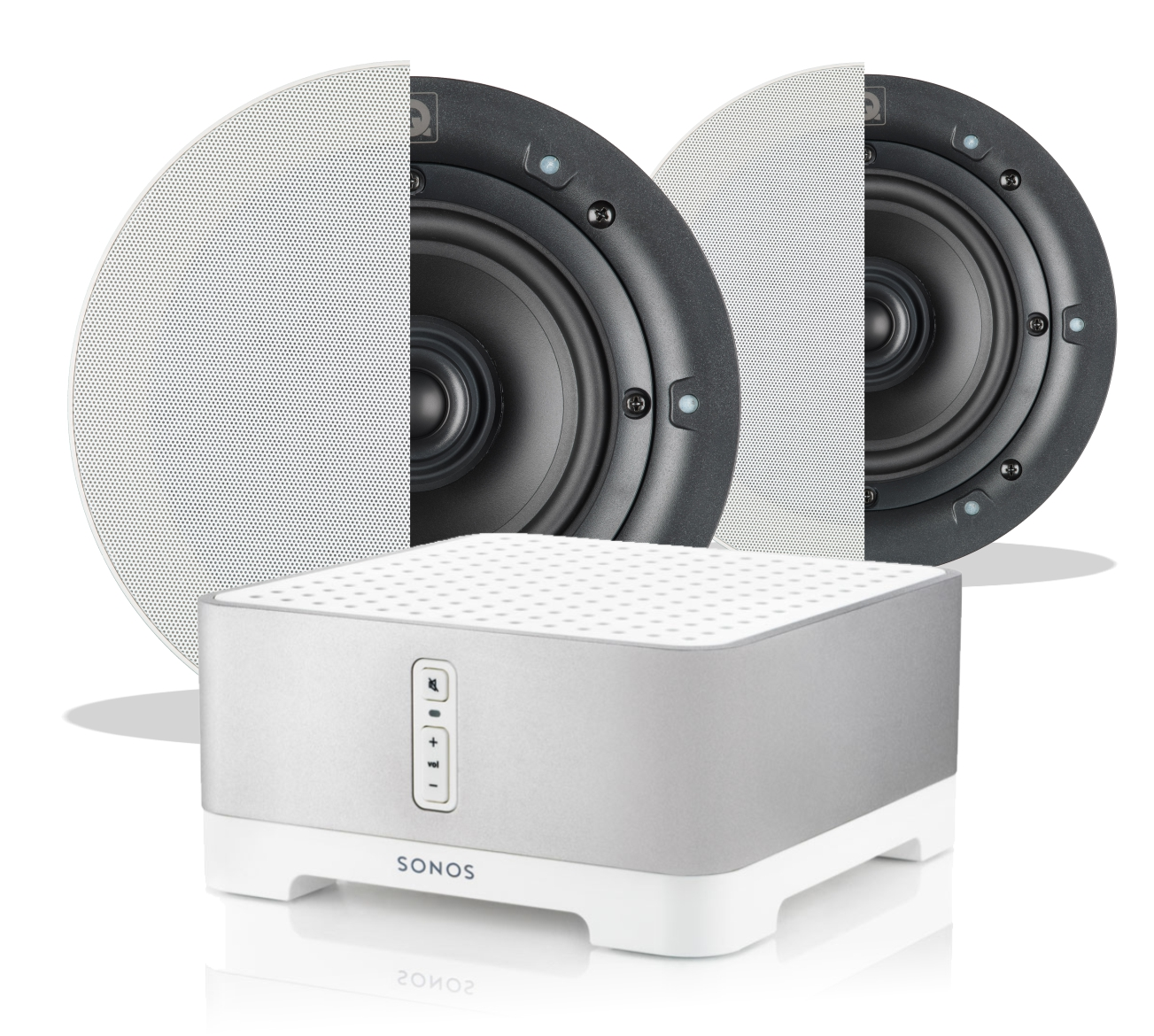 Sonos Connect Amp Q Install Ceiling Speaker Bundle