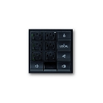 Systemline Modular - Multi Source Keypad Module - Black