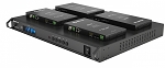 WyreStorm  4x4 4K HDBaseT Matrix with HDCP 2.2 and 4x Low Profile PoH Receivers