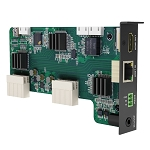 100 - HDBaseT input with HDMI & RS-232 output card
