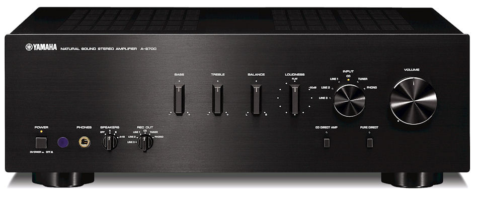 Yamaha a s700 2 channel integrated amplifiers reviews for Yamaha integrated amplifier review