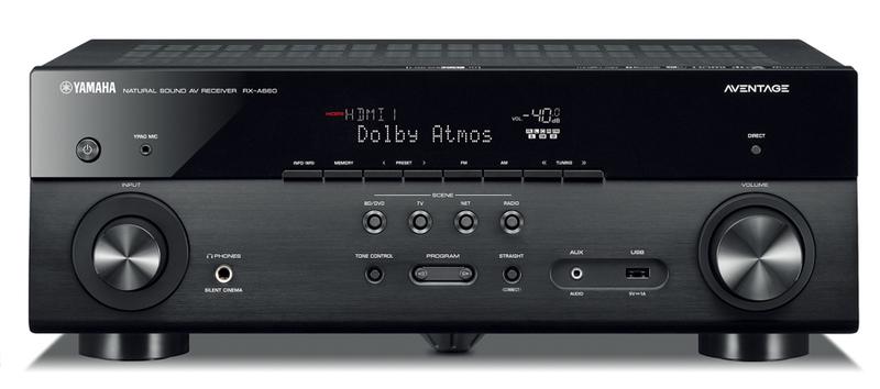 Yamaha Rx A660 7 2 Channel Aventage Atmos Av Receiver