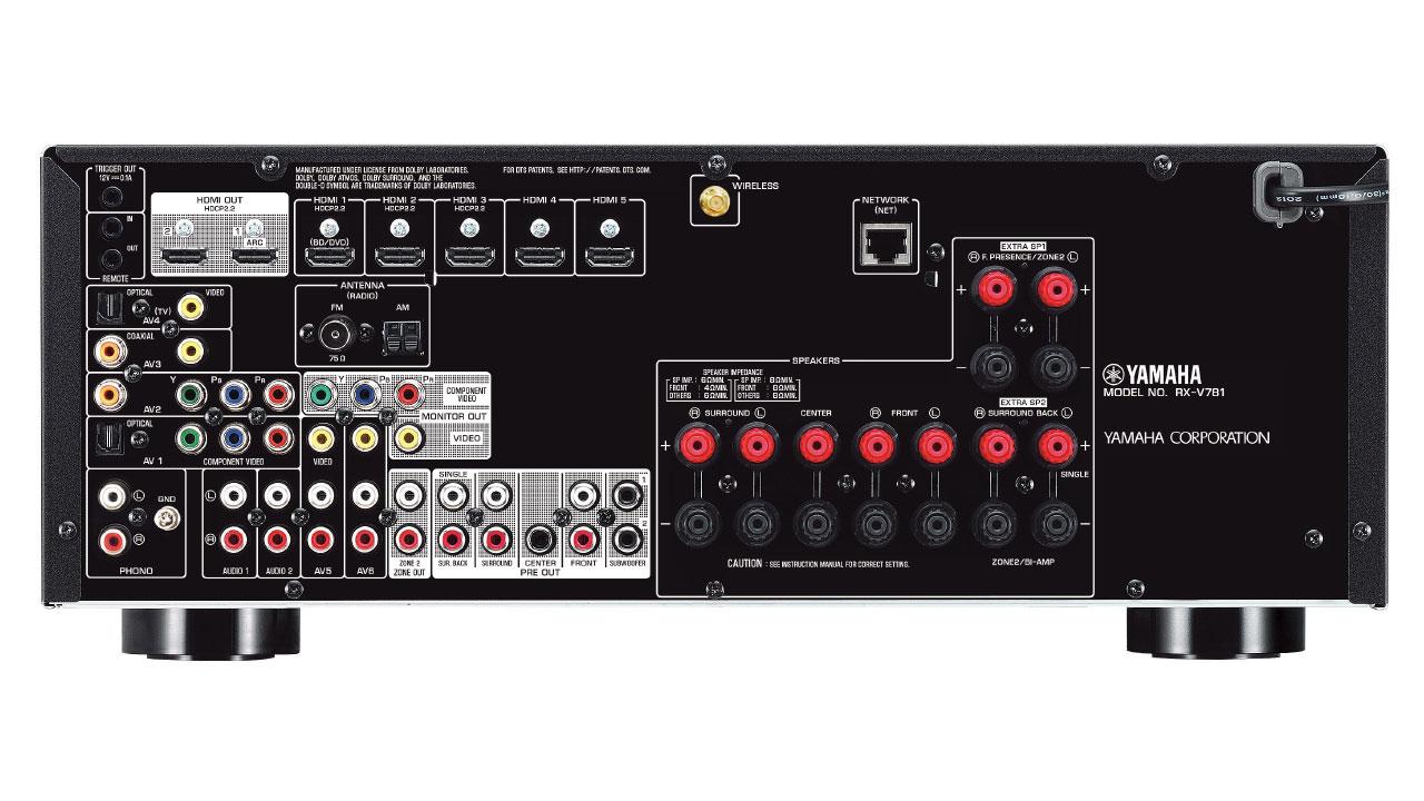 Yamaha Rx V Amplifier