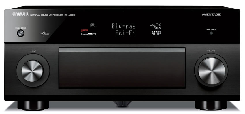 Yamaha rx a2060 7 2 channel aventage atmos av receiver for Yamaha home theatre customer care number