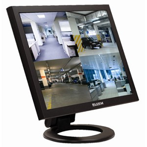 "BlueH 17"" CCTV Monitor with BNC"