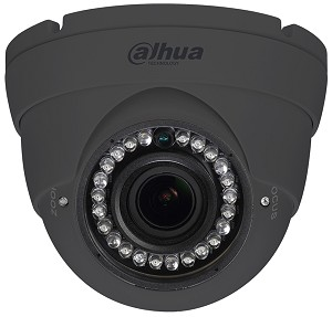 Dahua 2 Megapixel 1080P IR HDCVI Dome Camera - Grey