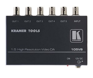 Kramer 105VB 1:5 Composite Distribution Amplifier on BNC's