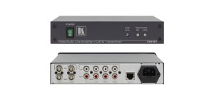 Kramer VM-9T 1:2 Composite/ St-Audio Distribution Amplifier and CAT 5