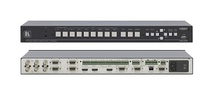 Kramer VP-731 9-Input Presentation Scaler/Switcher, Ethernet and Amp