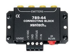 Xantech 78944 Connecting Block W/Control Out Status