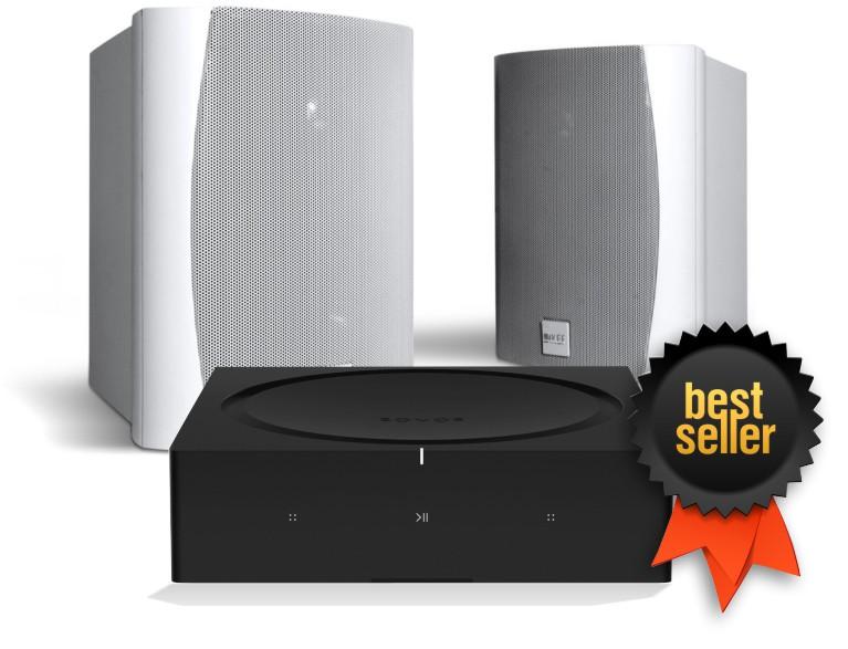Sonos Amp Kef Ventura Outdoor Speaker Bundle