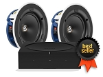 Sonos Amp KEF Ci130.2CR Ceiling Speaker Bundle