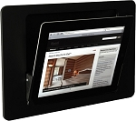 iRoom iDock Motorised iPad dock - Landscape Glass Line