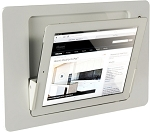 iRoom iDock Motorised Landscape iPad dock - Aluminium Line