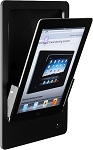 iRoom iDock Motorised Portrait iPad Dock - Aluminium Line