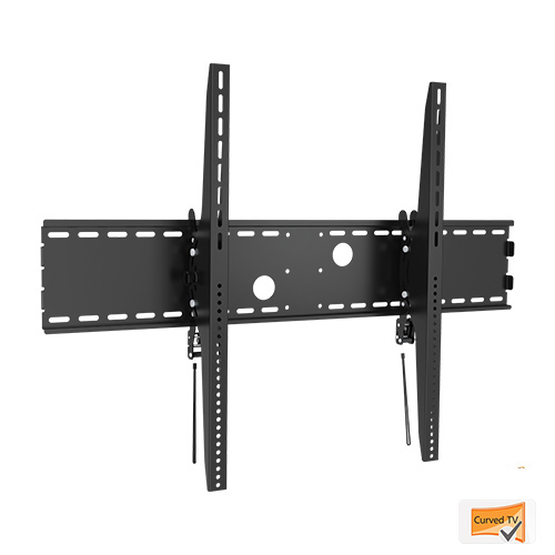 Lithe Audio Heavy-Duty TV Wall Mount for Curved and Flat Panels