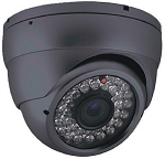 Outdoor 30M IR Dome Camera 650TVL - Grey