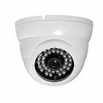 Outdoor 15M IR Dome Camera 600TVL - White