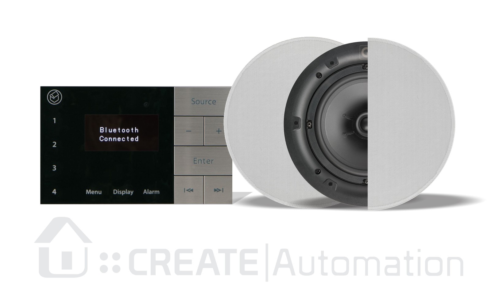 Systemline E100 | Ipod Dab Radio Dock - Create Automation