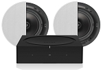 Sonos Amp Q Install Ceiling Speaker Bundle