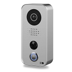 DoorBird D101S WiFi Intercom Door Station with PoE - Stratos Silver