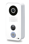 DoorBird D101 WiFi Intercom Door Station with PoE - White