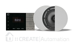 Systemline E100 DAB/FM/Bluetooth system including ceiling speakers