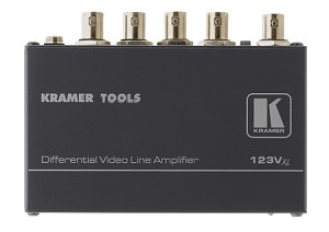 Kramer 123Vxl 1:3 Composite/SDI Differential Line Amplifier