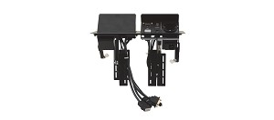 Kramer TBUS-202xl Dual Table Mount Pop Up  requires TS-201GB
