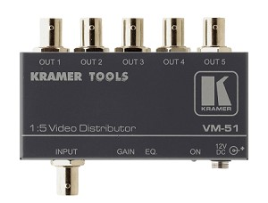 Kramer VM-51 1:5 Composite Distribution Amplifier BNC