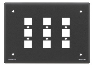 Kramer WP-3TB Wall Plate Frame for RC-3TB